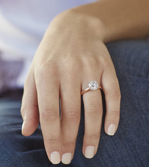 Choice on Diamond Rings