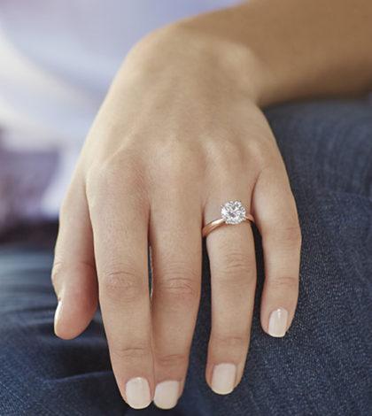 Choice on Diamond Rings